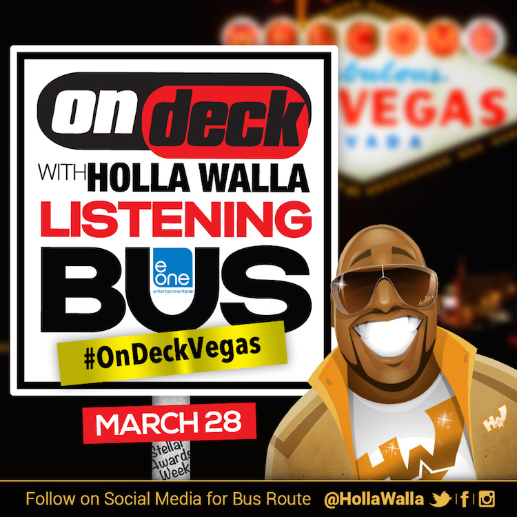 On Deck with Holla Walla Listening Bus - Stellar Awards