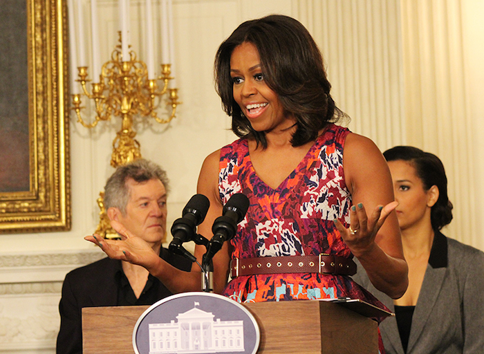 Michelle Obama talks gospel music