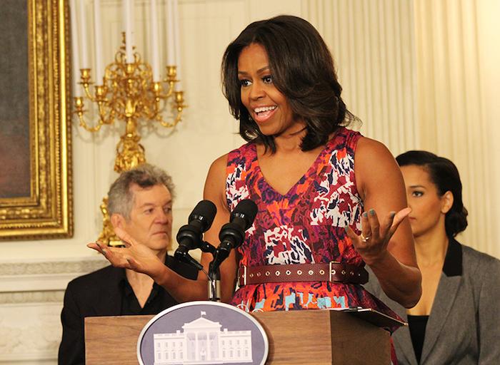 Michelle Obama talks gospel music