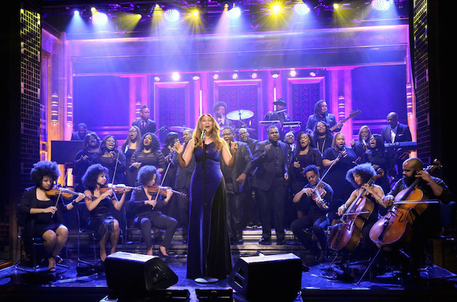 Yolanda Adams on The Tonight Show