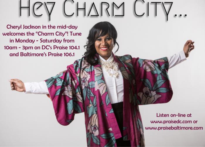 Cheryl Jackson, Charm City gospel radio show
