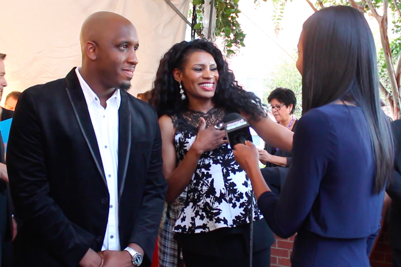 Dove Awards 2015: Red Carpet Interviews with Tasha Cobbs ...