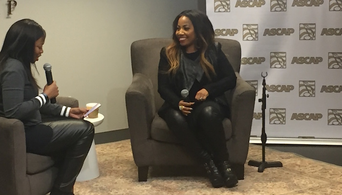 Janice Gaines Greatest Life Ever Listening Session at ASCAP in NYC