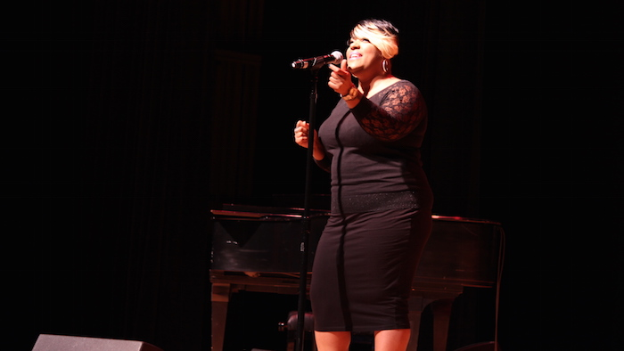 Anita Wilson performing at UDC