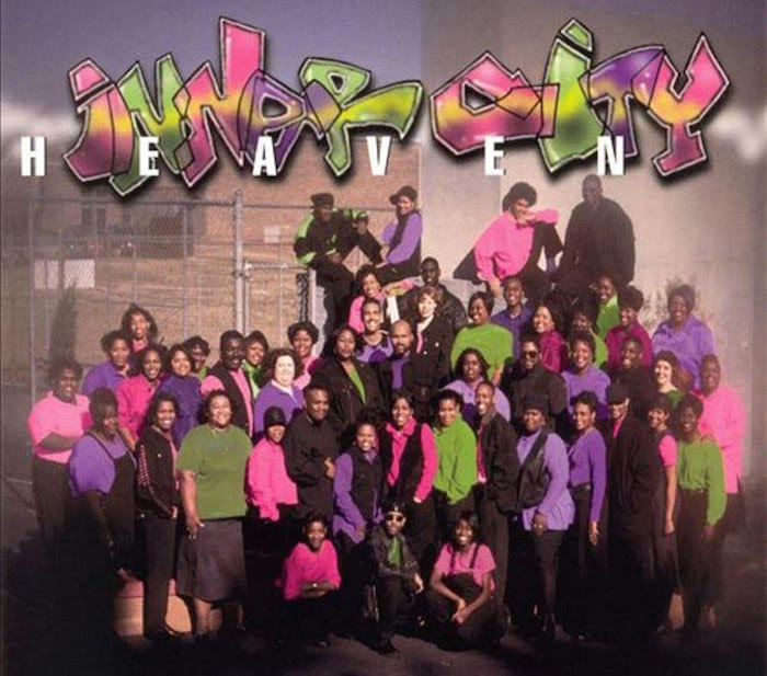 john p kee, inner city mass choir - heaven album cover