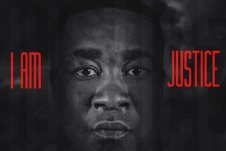 "Canton Jones ""I Am Justice"" Album Cover"