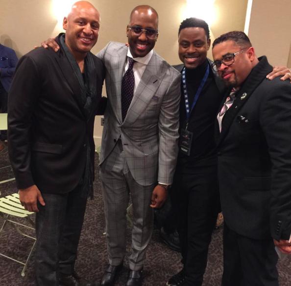 Brian Courtney Wilson, Isaac Carree, Charles Jenkins, Byron Cage - BMI Trailblazers of Gospel 2016