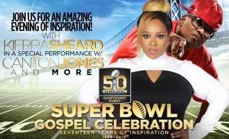 super bowl gospel celebration - kierra sheard, canton jones