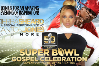 super bowl gospel celebration - kierra sheard, canton jones