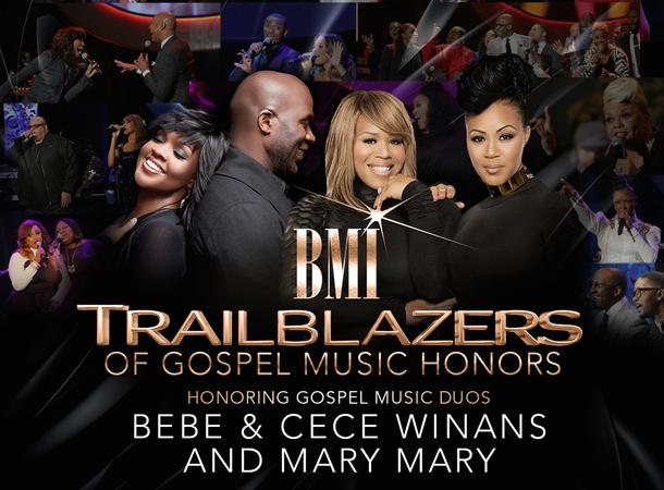 BMI trailblazers of gospel 2016