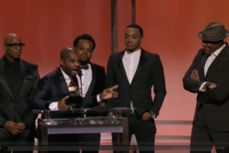 KIkr Franklin's 2016 Grammy Acceptance Speech
