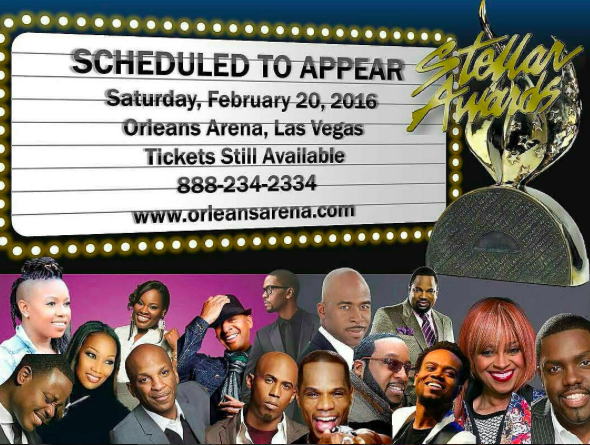 Stellar Awards Performers 2016
