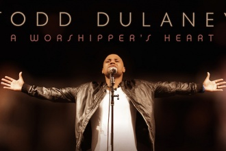 Todd Dulaney-A Worshipper's Heart-Album cover art