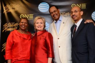 Hillary Clinton at the Stellar Awards