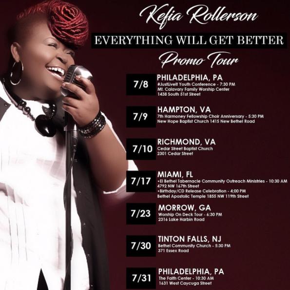 kefia rollerson promo tour