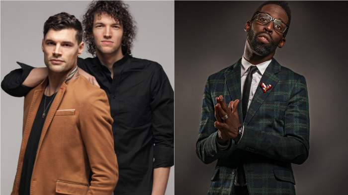 For King and Country, Tye Tribbett, 2016 Dove Awards Hosts