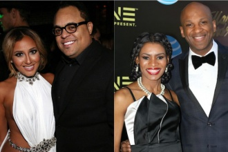 Israel Houghton and Adrienne Bailon, Donnie McClurkin and Nicole C Mullen engaged