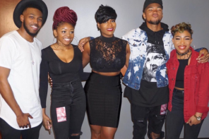 Fantasia Moved to Tears By Surprise From The Walls Group [VIDEO]