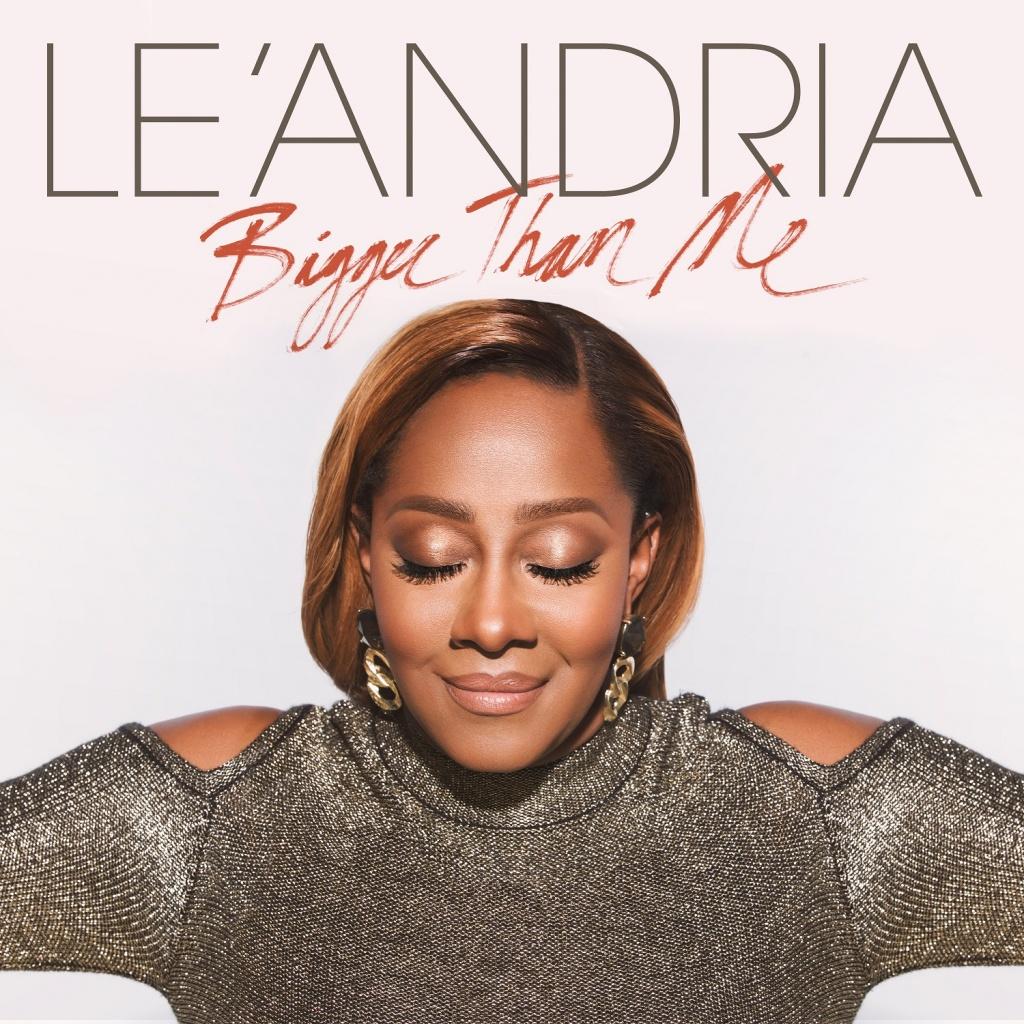 Le'Andria-Bigger Than Me-single cover-Photo Derek Blanks