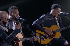 #TBT: Jonathan McReynolds, Travis Greene, Jonathan Butler & Israel Houghton Perform at Stellar Awards 2017