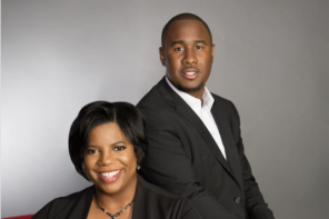 Monica Coates and EJ Gaines