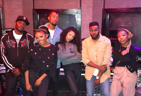 Image result for The Walls Groups Hits the Studio with Lil Mama