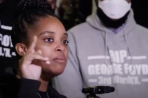 """The Violence Was What We Learned From You"": Tamika Mallory Gives Powerful Speech In Wake Of George Floyd Murder By Police [VIDEO]"