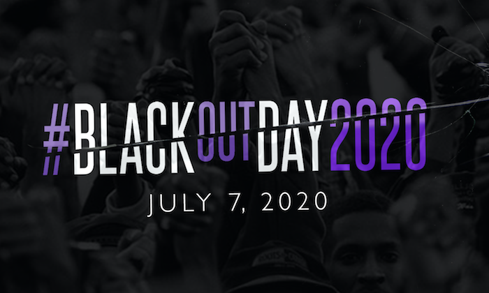 blackout day 2020