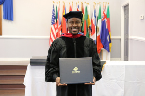 Charles Jenkins Receives His Doctorate of Divinity